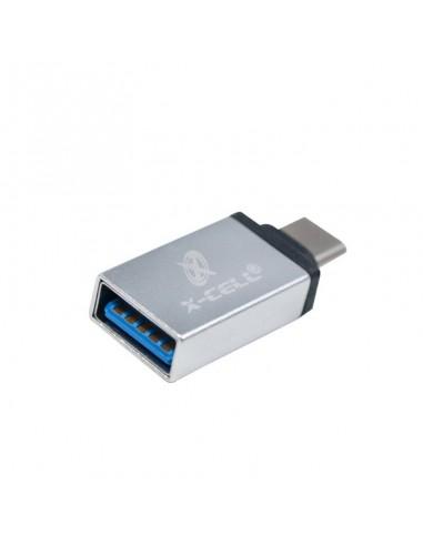 ADAPTADOR OTG USB FÊMEA PARA TIPO C