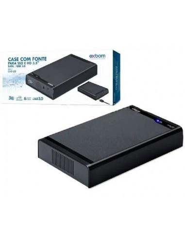 "CASE PARA HD SATA DE 3,5"" USB 3.0..."