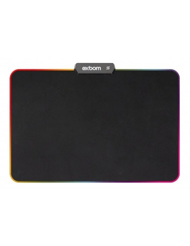 MOUSE PAD GAMER EXBOM LED RGB 7 CORES...