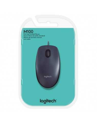 MOUSE LOGITECH USB M100 PRETO