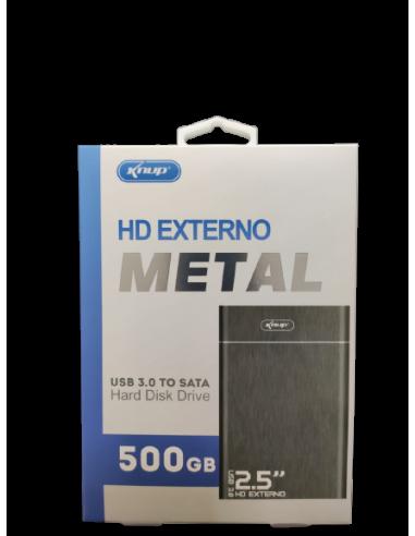 HD EXTERNO 500GB KNUP KP-HD017