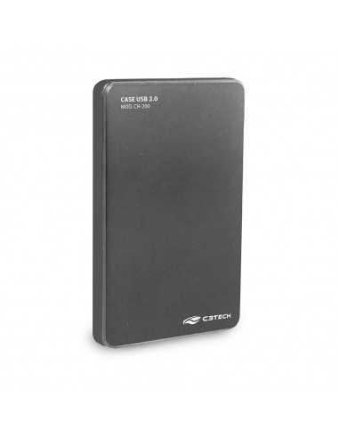 CASE HD NOTE USB 2.0 C3T CH 200GY CINZA