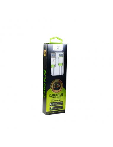 CABO FLEX USB MICRO-USB 3A 2M XC-CD-57