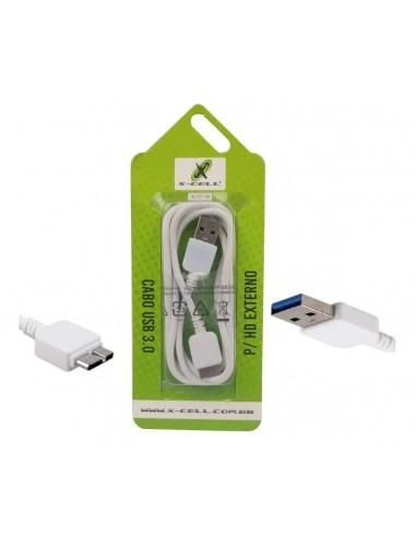 CABO USB 3.0 MICRO HD EXTERNO 1M - FLEX