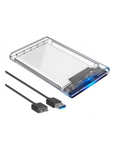"CASE PARA HD SATA DE 2,5"" USB 3.0..."