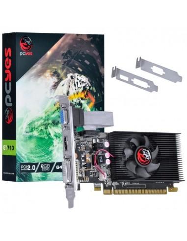 PLACA DE VÍDEO GEFORCE GT710 2GB DDR3...